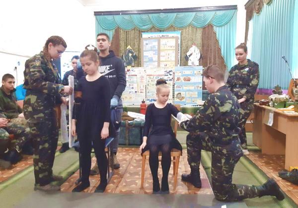 Джури провели заняття з вихованцями Палацу