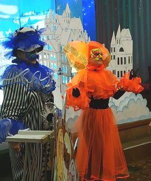 Колектив Палацу дітей та юнацтва дарує новорічну казку