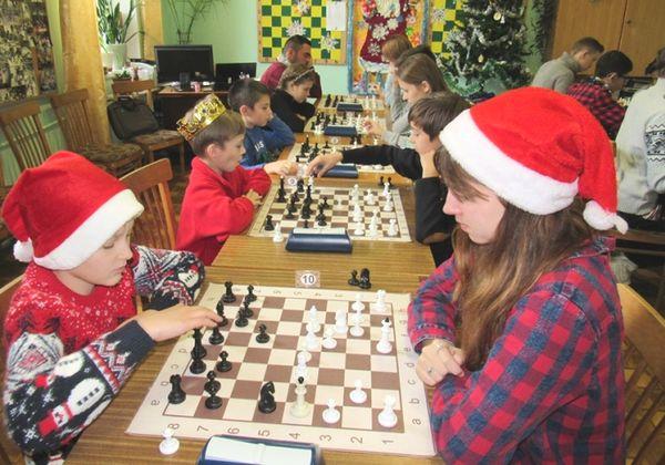 Шаховий бліц-турнір «Новорічний позитив»