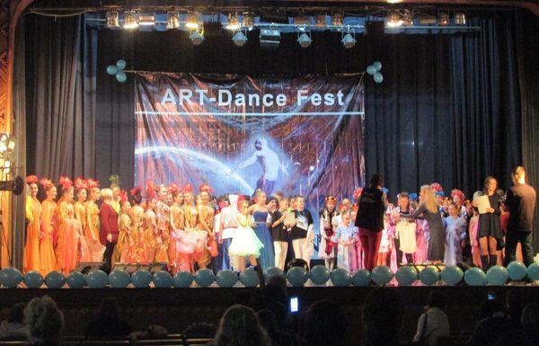 Танцювальні перемоги «Райдуги»