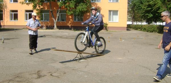 Змагання з техніки велосипедного туризму