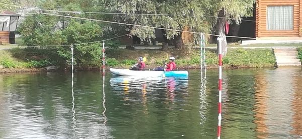 Змагання з техніки водного туризму